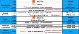Harmonogram treningów od 29 września_14
